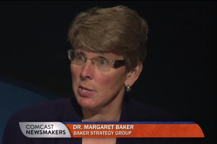 Dr. Margaret Baker with Laurel Hess on Comcast Newsmakers
